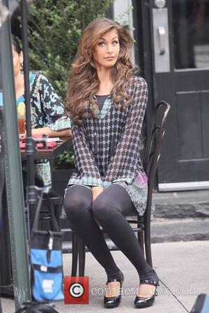 Dayana Mendoza filming in New York City New York City, USA - 22.06.09