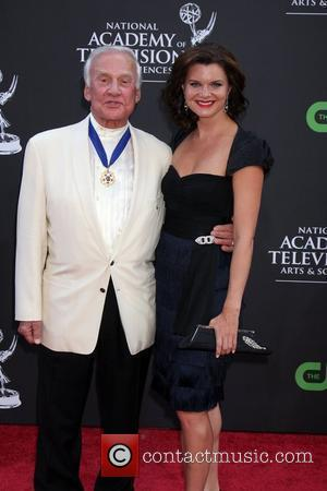 Buzz Aldrin and Heather Tom The 36th Annual Daytime Emmy Awards at The Orpheum Theatre Los Angeles, California - 30.08.09