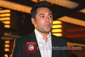 Oscar De La Hoya Press conference for the ABC television series 'Shaq vs' at the Planet Hollywood Hotel and Casino...