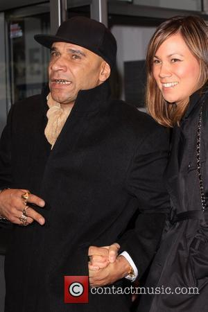 Goldie and guest World premiere of 'Dead Man Running' held at the Odeon Leicester Square London, England - 22.10.09