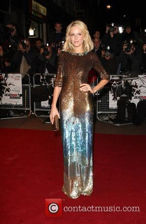 Monet Mazur World premiere of 'Dead Man Running' held at the Odeon Leicester Square London, England - 22.10.09