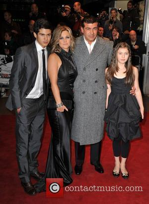 Tamer Hassan and family