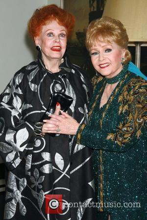 Arlene Dahl and Debbie Reynolds Opening night of Debbie Reynolds' debut engagement at the Cafe Carlyle at the Carlyle Hotel...