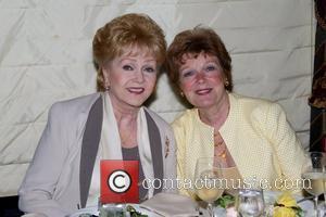 Debbie Reynolds and Anita Gillette