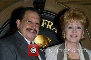 Ellis Nassour and Debbie Reynolds