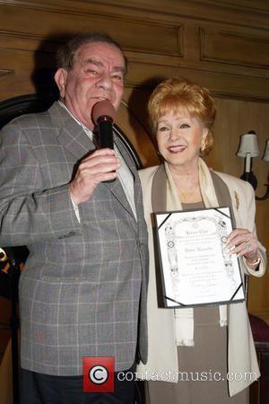 Freddie Roman and Debbie Reynolds