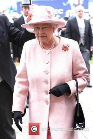 HRH Queen Elizabeth II Epsom derby 2009 Epsom, England - 06.06.09