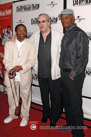 Director Spike Lee, Danny Aiello, Spike Lee and Directors Guild Of America