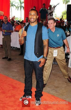 "Omari Hardwick, from the T.V. show ""Dark Blue"" Miami Dolphins vs New Orleans Saints game at Land Shark stadium -..."
