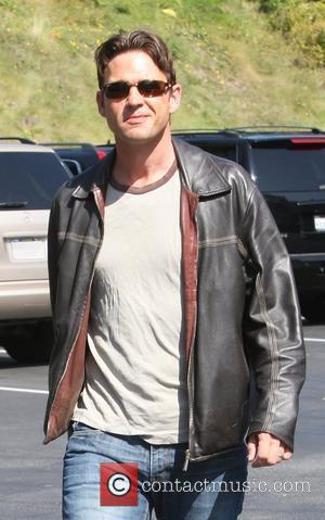 Dougray Scott running errands in West Hollywood Los Angeles, California - 08.10.09