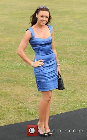 Michelle Heaton, Duke Of Essex Polo Trophy and Gaynes Park
