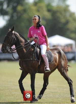 Katie Price and Duke Of Essex Polo Trophy