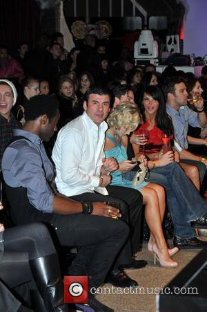 Joe Calzaghe and Kristina Rihanoff Ed Hardy - Store Launch Party at the Westfield Centre London, England - 01.12.09