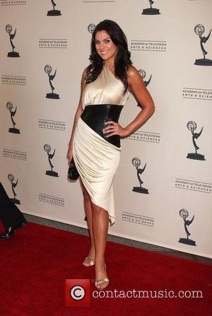 Nadia Bjorlin  The Daytime Emmy Nominees Reception held at the Television Academy - Arrivals Hollywood, California - 27.08.09