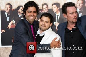Adrian Grenier, Jerry Ferrara and Kevin Dillon The 'Entourage' 6th Season Premiere at the Paramount Theater on the Paramount Pictures...