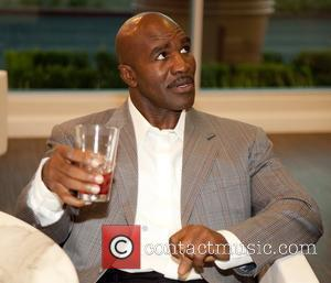 Evander Holyfield at the unveiling of his fine art collection at Spa Eleven at Town Square Las Vegas, Nevada -...