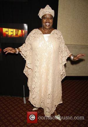 Lillias White Opening night after party for the Broadway musical 'Fela!' held at Gotham Hall - Press Room New York...