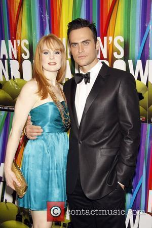 Kate Baldwin and Cheyenne Jackson Opening night after party for the classic Broadway musical 'Finian's Rainbow' held at the Bryant...