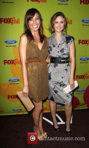 Michaela Conlin, Emily Deschanel 2009 Fox Fall Eco-Casino party held at the BOA steakhouse Los Angeles, California - 14.09.09