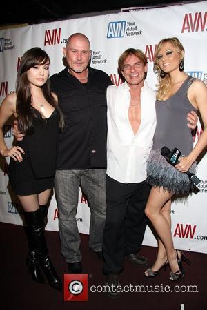 Sasha Grey, Mark Davis, Evan Stone and Angelina Armani Hustler Hollywood 'Sex, Drinks & Rock 'n' Roll Freedomfest' to benefit...