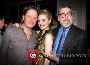 Chris Smith, Melissa George and John Landis