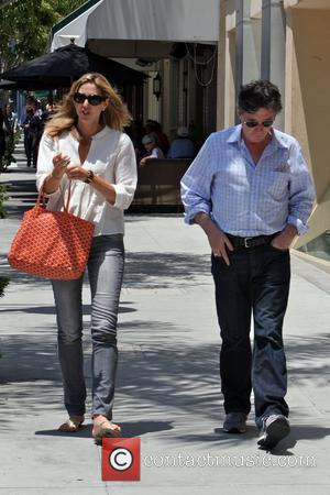 Gabriel Byrne  seen leaving Porta Via Restaurant with a friend after having lunch together. Beverly Hills, California - 01.07.09