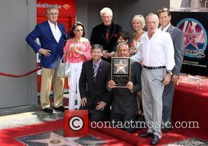 George Hamilton, James Caan Family and Friends Hamilton is honored on the Hollywood Walk Of Fame. Hollywood, California - 12.08.09