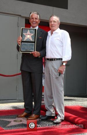 George Hamilton and James Caan George Hamilton is honored on the Hollywood Walk Of Fame. Hollywood, California - 12.08.09
