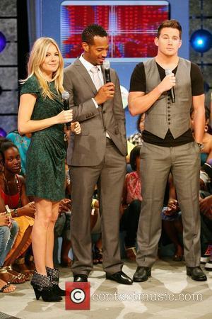 Sienna Miller, Channing Tatum and Marlon Wayans
