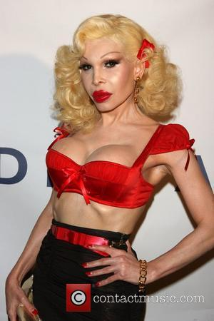 Amanda Lepore GLAAD Manhattan summer rooftop event at 230 Fifth Avenue New York City, USA - 25.08.09