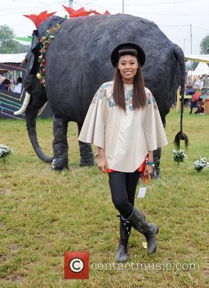 V V Brown, Glastonbury Festival and Glastonbury