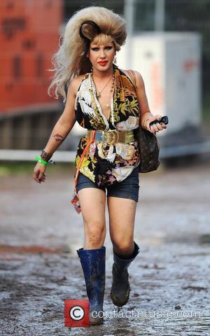 Jodie Harsh and Glastonbury Festival