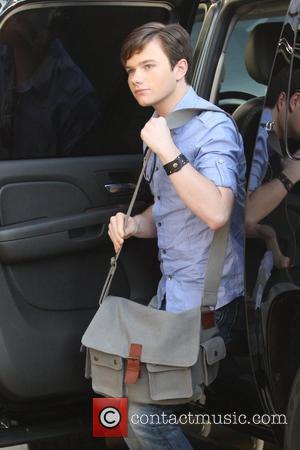 Chris Colfer from 'Glee' arrives at the cast's book signing at Barnes and Noble Los Angeles, California - 07.11.09