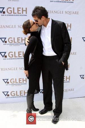 Gabrielle Anwar and Her Boyfriend