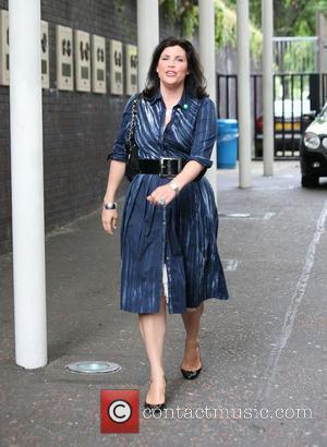 Kirstie Allsopp leaving the GMTV studios London, England - 05.08.09
