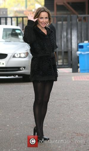 Sharon Corr outside the 'GMTV' studios London, England - 06.11.09
