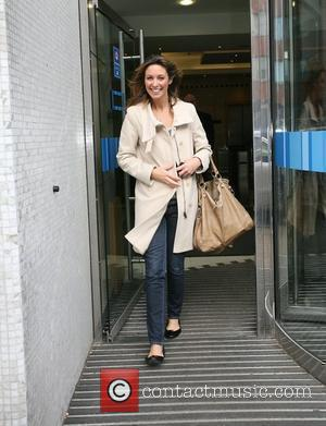 Emma Crosby outside the GMTV studios London, England - 25.11.09