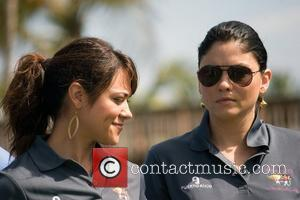 Camille Guaty and Jody Okeffe Amaury Nolasco and Friends Golf Classic Tournament held at Bahia Beach  Rio Grande, Puerto...