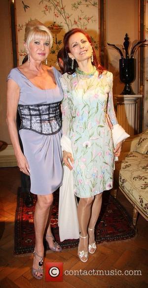 Ivana Trump and Jasmine Horowitz Liz Brewer and Goodlife host a reception at Partridge Fine Art gallery London, England -...