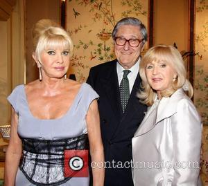 Ivana Trump, Guest and Liz Brewer Liz Brewer and Goodlife host a reception at Partridge Fine Art gallery London, England...