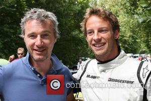 Eddie Irvine, Jenson Button and Goodwood Festival Of Speed