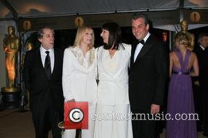 Sally Kellerman and actress Anjelica Huston Academy Of Motion Pictures And Sciences' 2009 Governors Awards Gala - Arrivals held at...