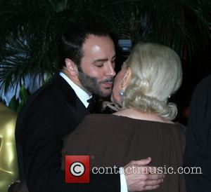 Tom Ford and Lauren Bacall