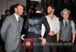 Gary Barlow, Jason Orange, Howard Donald and Mark Owen of Take That GQ Men Of The Year Awards held at...