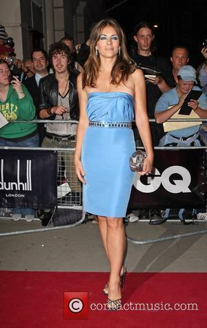 Elizabeth Hurley aka Liz Hurley GQ Men of the Year awards 2009 held at the Royal Opera House - outside...