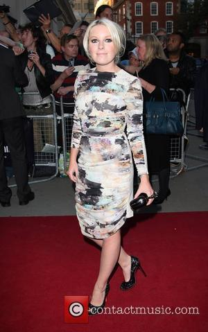 Little Boots GQ Men of the Year awards 2009 held at the Royal Opera House - outside arrivals London, England...