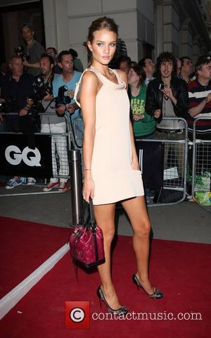 Rosie Huntington-Whiteley GQ Men of the Year awards 2009 held at the Royal Opera House - outside arrivals London, England...