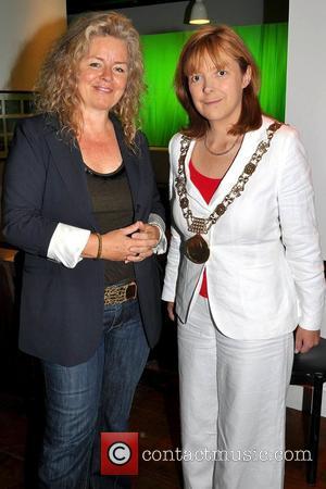 Patricia Rozema and Dublin Lord mayor Eimear Costello