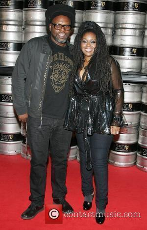 Jazzie B and Caron Wheeler of Soul II Soul