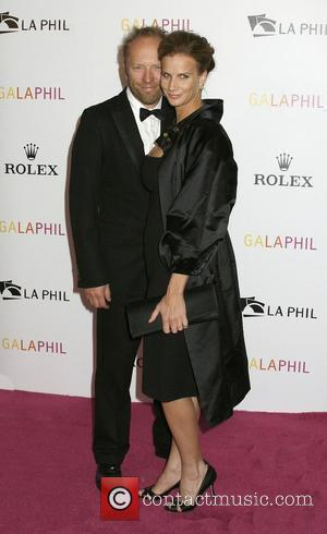 Rachel Griffiths and Guest The Los Angeles Philharmonic Opening Night Gala to celebrate the appointment of Gustavo Dudamel as director...